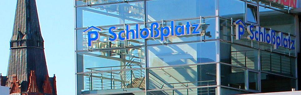 Header Parken - Parkhaus Schloßplatz 1