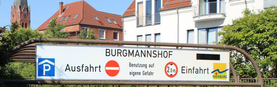 Header Parken - Parkgarage Burgmannshof