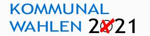 Banner Kommunalwahlen 2021©Stadt Nienburg/Weser