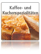 Kaffee- und Kuchenspezialitäten